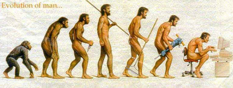 The (de) evolution of Man