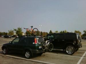 A tale of two SUVs